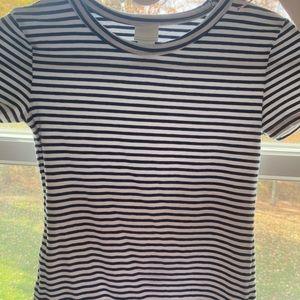 Navy Blue stripped shirt US XS